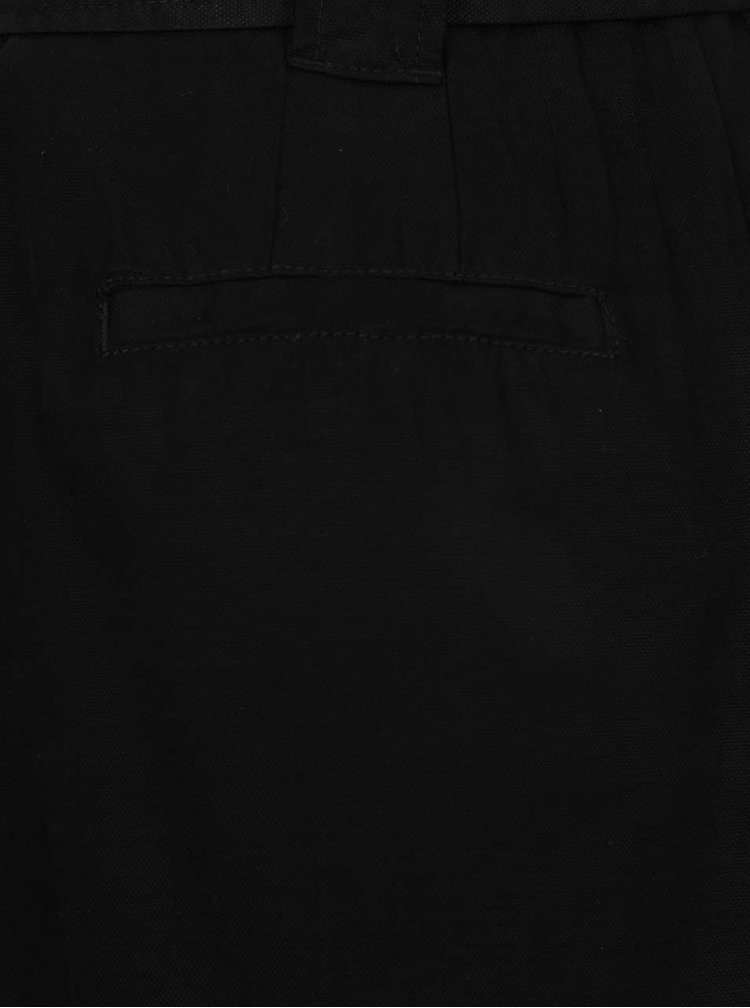 Černá sukně se zavazováním v pase s.Oliver