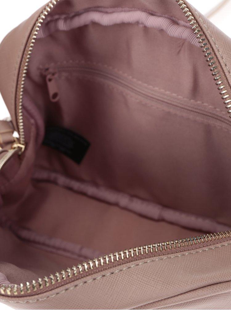 Béžová crossbody kabelka s detaily Dorothy Perkins