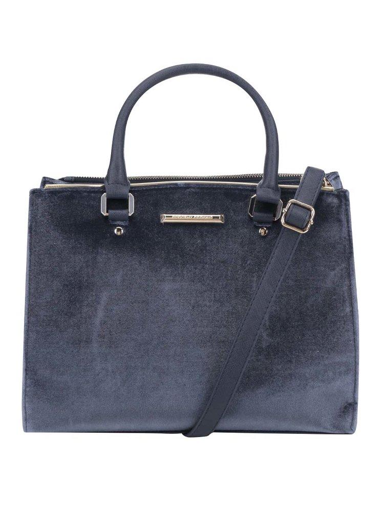 Tmavě modrá kabelka s detaily ve zlaté barvě Dorothy Perkins