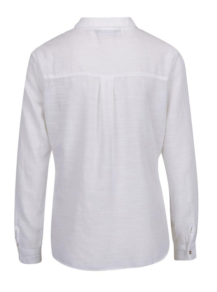 Krémová žíhaná košile s kapsami Dorothy Perkins