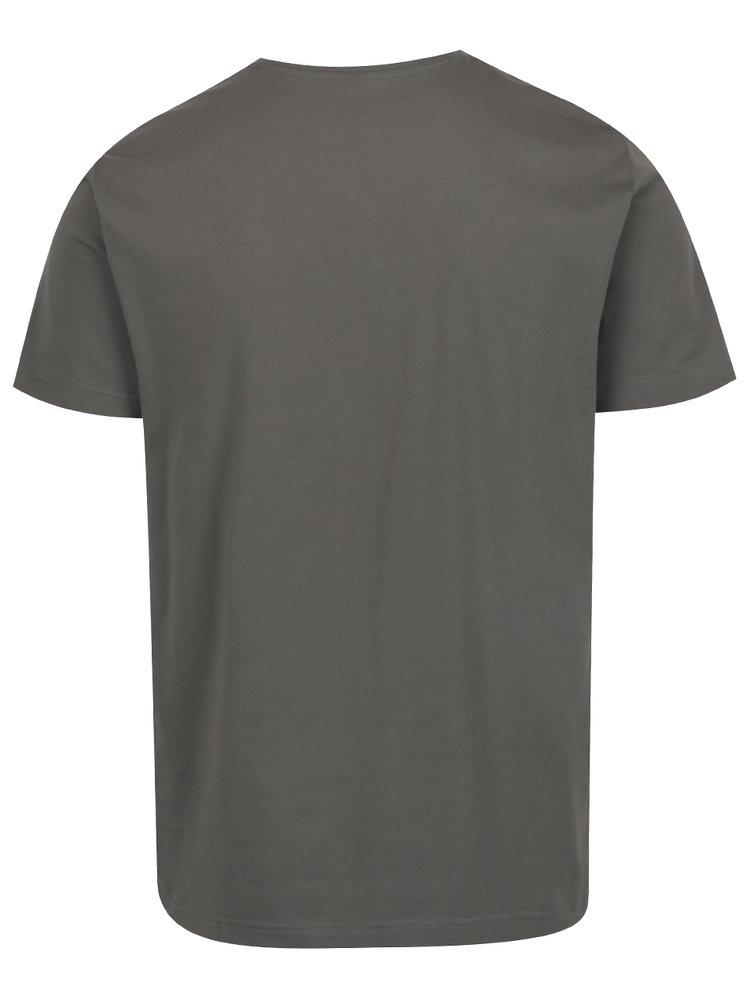 Tricou gri închis s.Oliver pentru bărbați