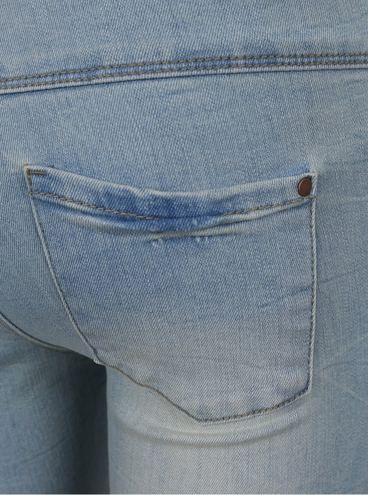Blugi albastru deschis cu aspect uzat pentru băieți LIMITED by name it Afana
