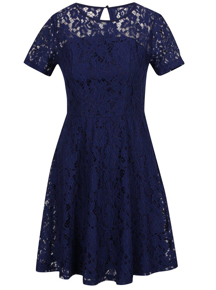 Rochie albastru inchis Dorothy Perkins din dantela