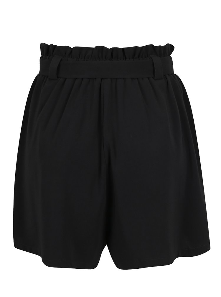 Černé kraťasy s vysokým pasem Haily´s Mandy
