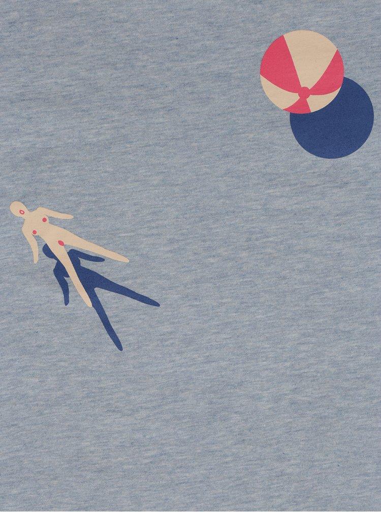 Modré dámské tričko ZOOT Originál Pool fun