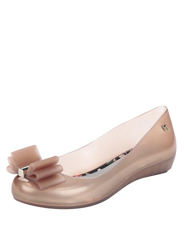 Balerini roz cu aspect metalic din cauciuc Melissa Ultragirl Sweet