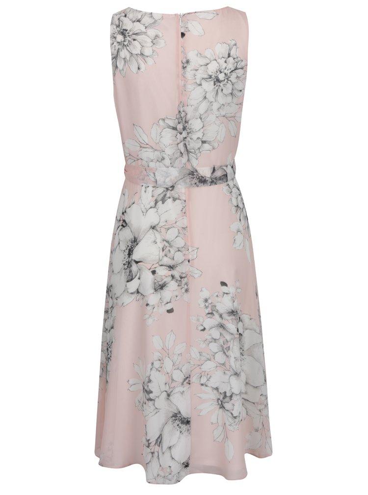 Rochie roz pal M&Co cu imprimeu floral