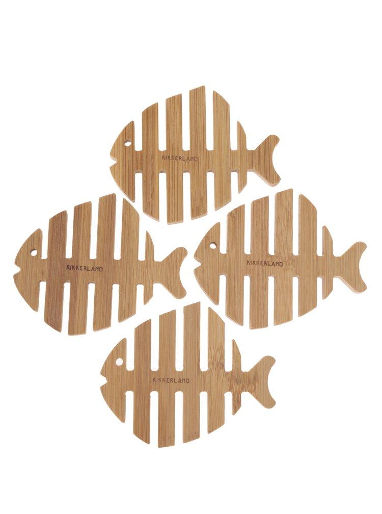 Suport pentru pahar cu formă de pește Kikkerland