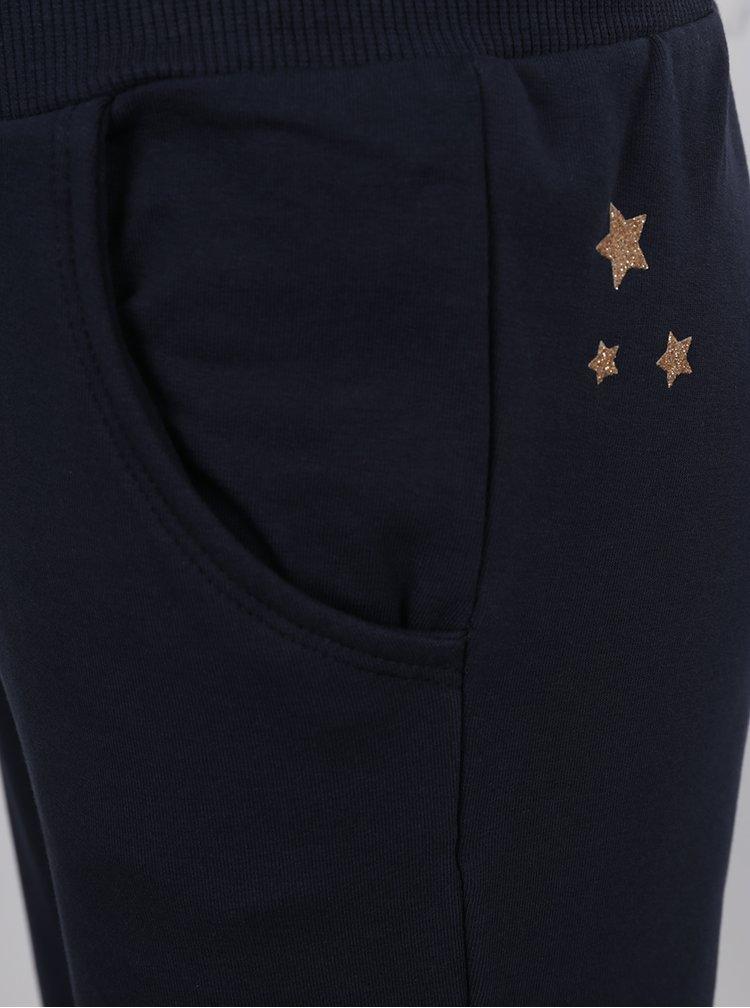 Pantaloni bleumarin sport pentru fete name it Voltano