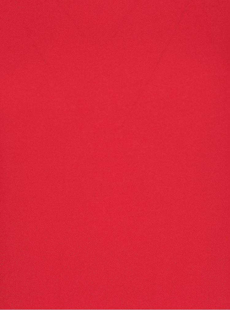 Tricou roșu din material vaporos VERO MODA Boca