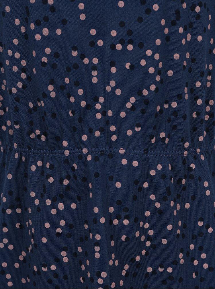 Tmavě modré puntíkované šaty name it Viggahi