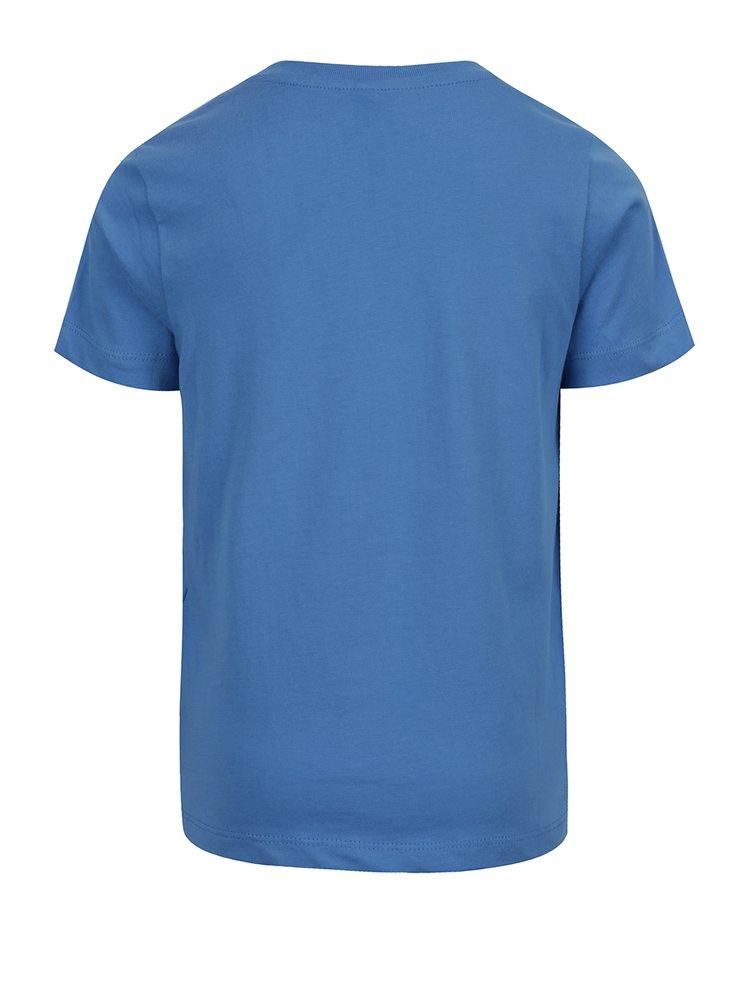 Světle modré klučičí triko s potiskem name it Vuxhux
