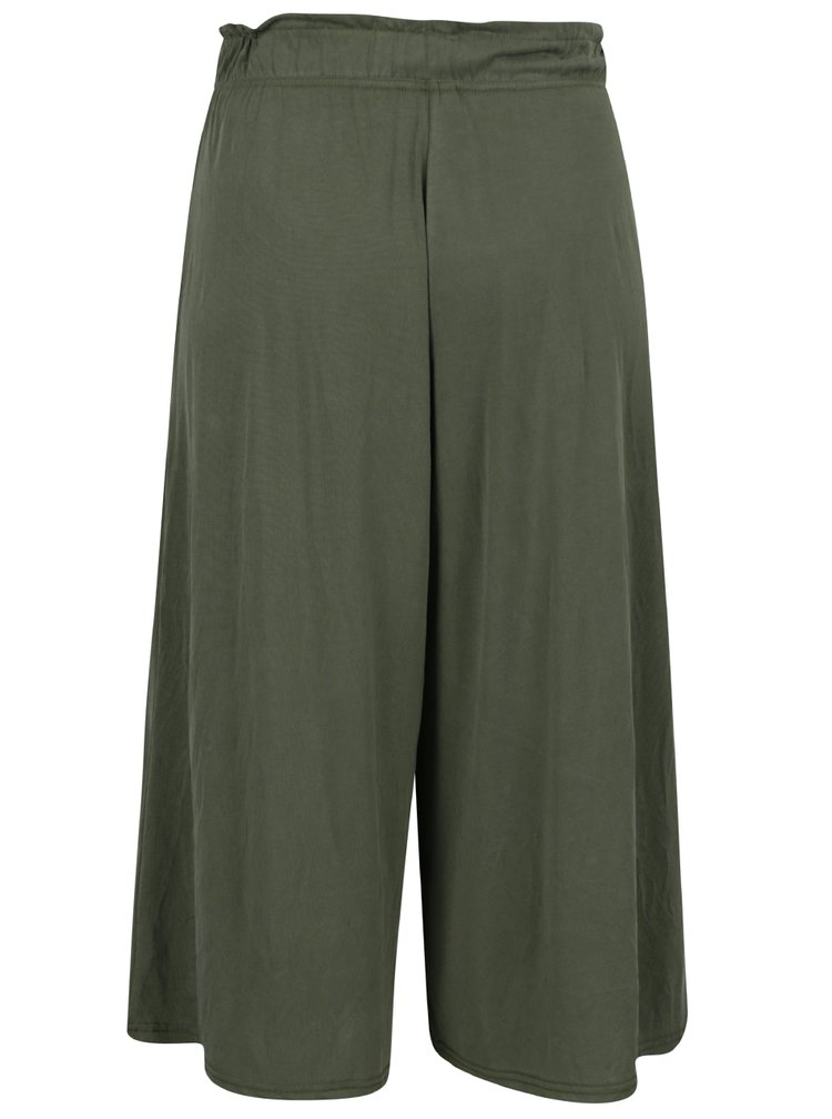 Pantaloni culottes kaki VERO MODA Metti