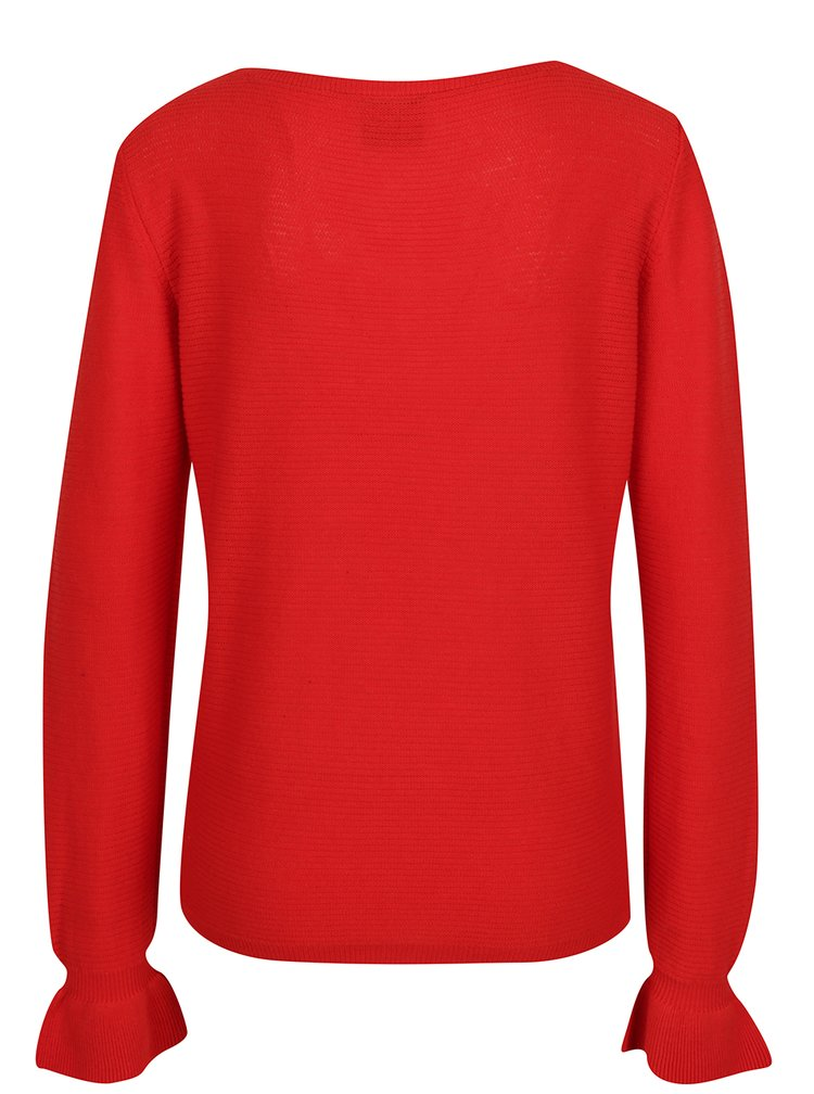 Bluză roșie din tricot VERO MODA Nice