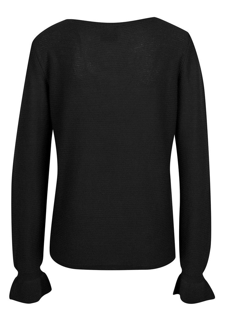 Bluză neagră din tricot VERO MODA Nice
