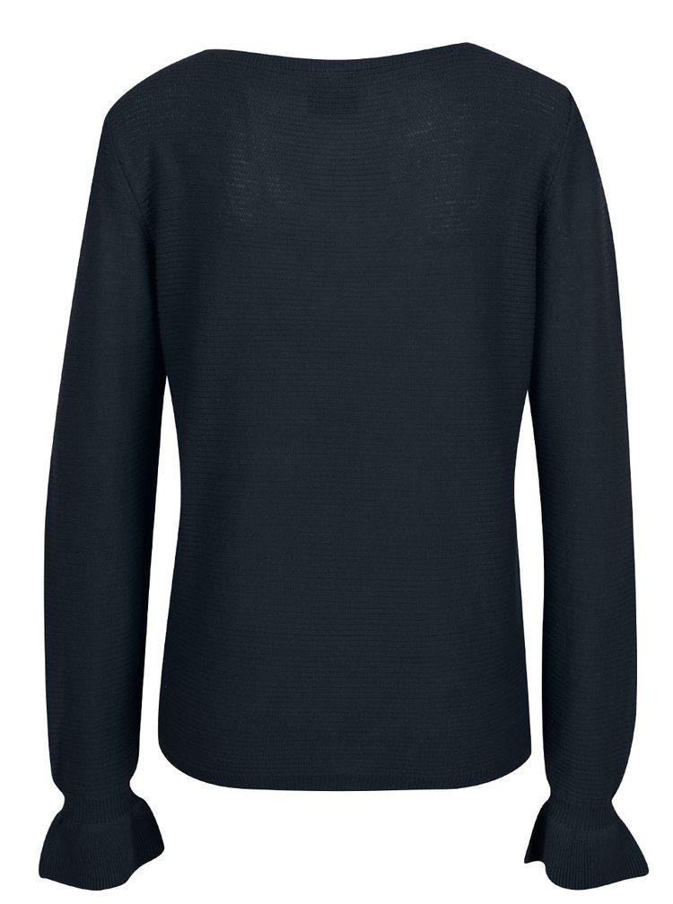 Bluză bleumarin din tricot VERO MODA Nice
