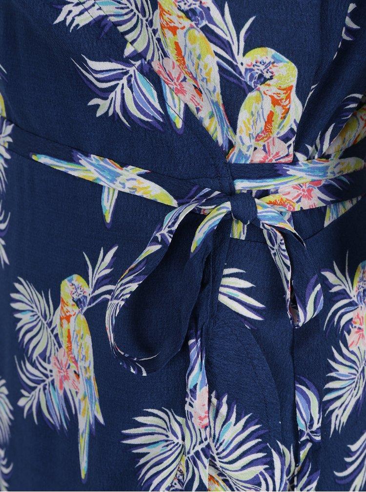 Rochie albastru închis Juicy Couture cu imprimeu