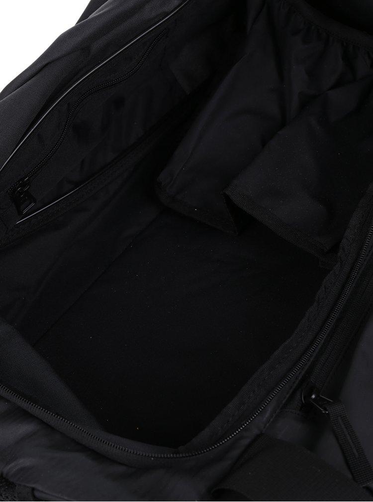 Geanta unisex impermeabila neagra cu logo Nike