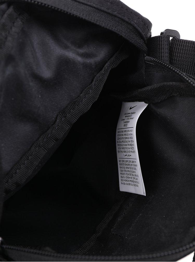 Geanta crossbody neagra cu model discret pentru barbati Nike Core Small