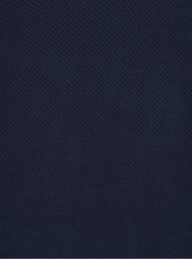 Pulover bleumarin din jerseu subțire ONLY & SONS Gason