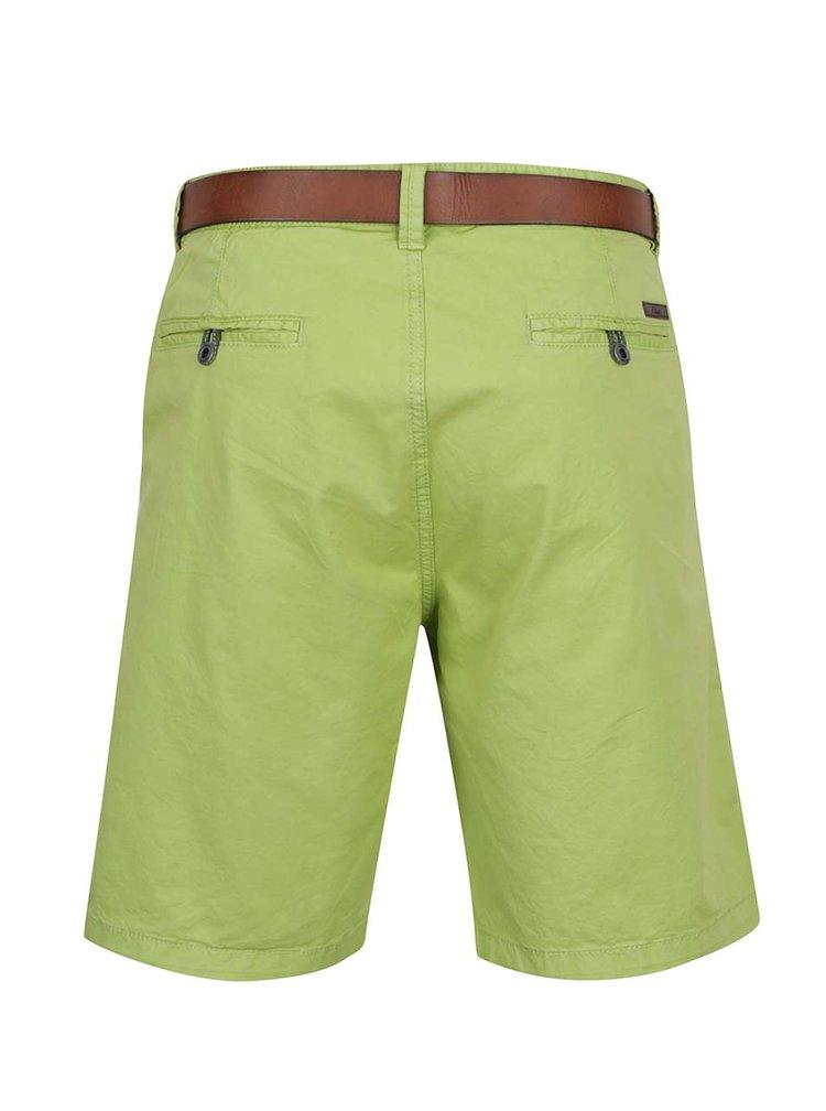 Pantaloni scurti chino verzi s.Oliver