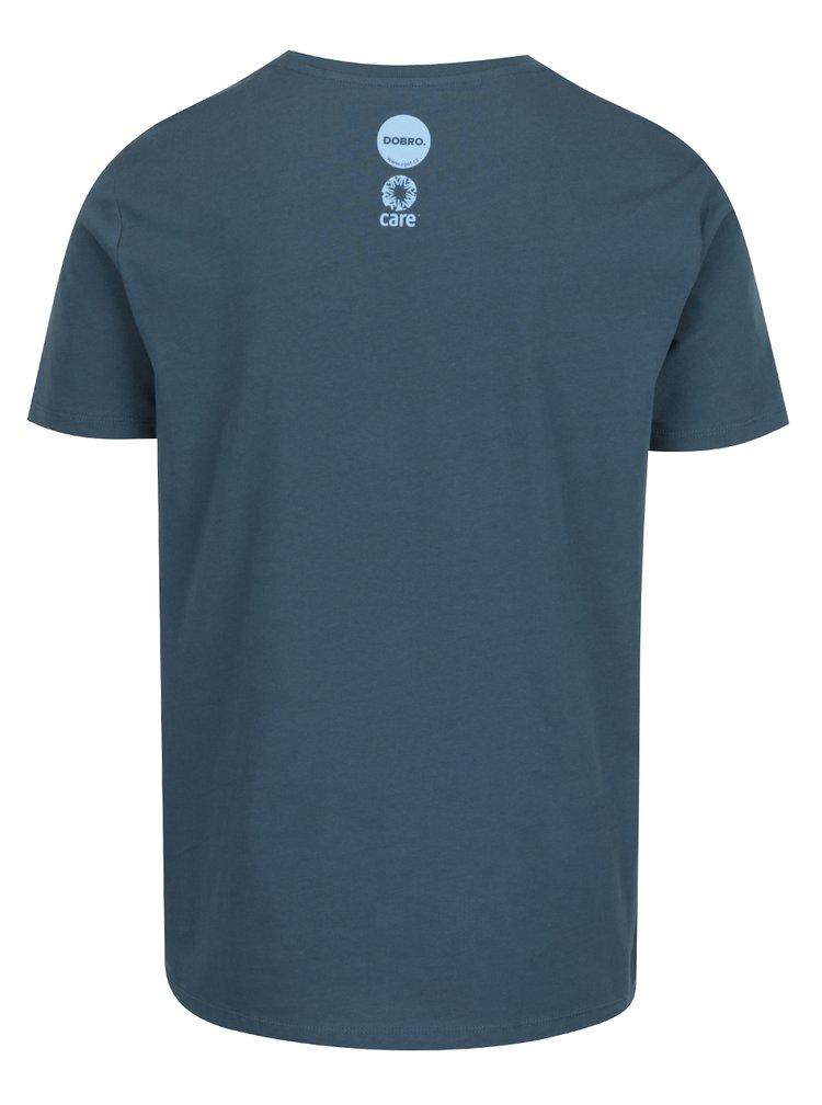 """""""Dobré"""" tmavě modré pánské triko pro Care"""