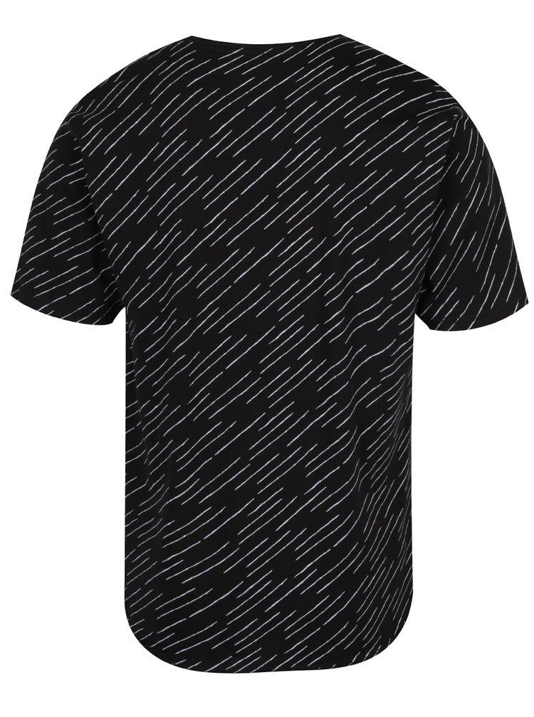 Tricou negru cu imprimeu grafic ONLY & SONS Huxie