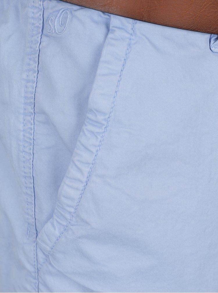 Pantaloni scurti chino bleu s.Oliver