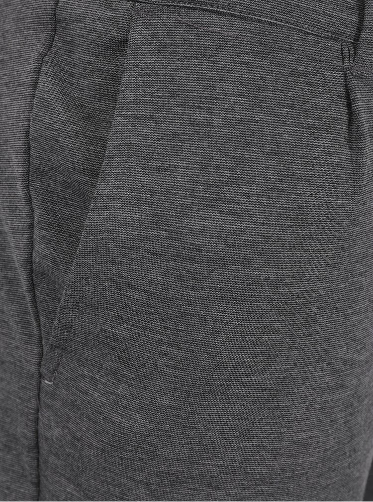 Sivé žíhané chino nohavice ONLY & SONS Solid