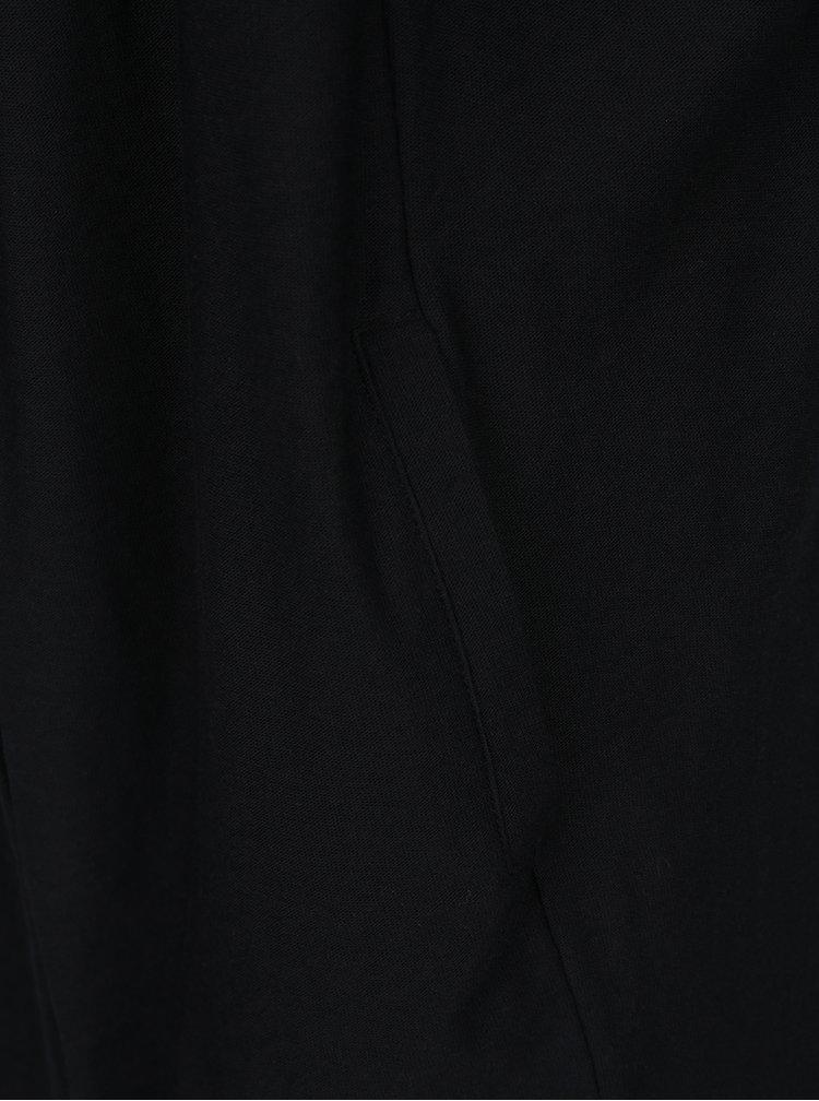 Černý kardigan s kapucí ONLY & SONS Logan