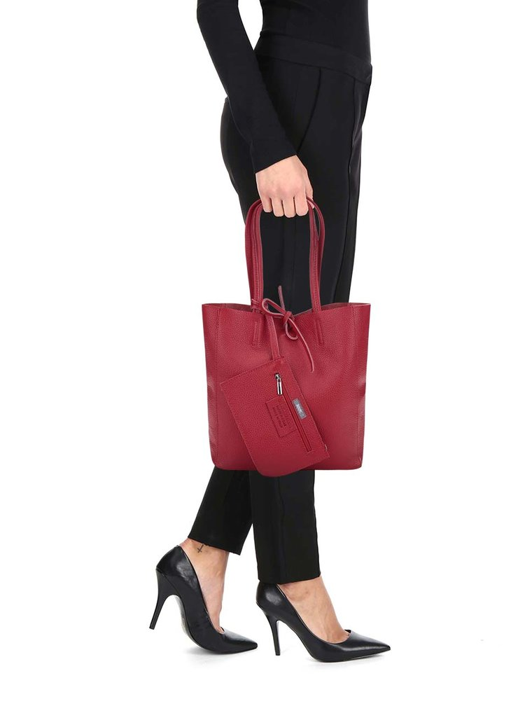 Geanta shopper visinie din piele - ZOOT Simple