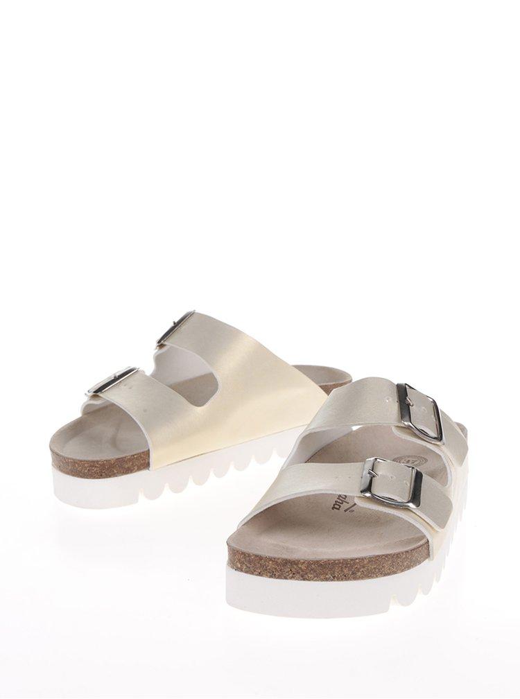 Papuci aurii Snaha Lima 160 cu talpă comodă