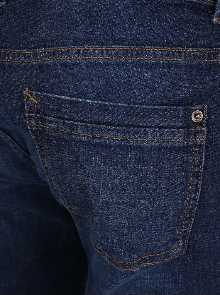 Pantaloni scurți bleumarin din denim s.Oliver