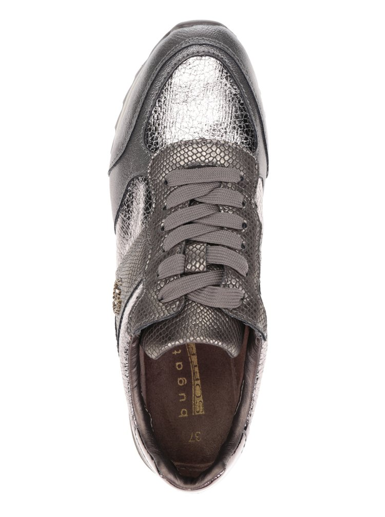 Pantofi sport argintii bugatti Fergie