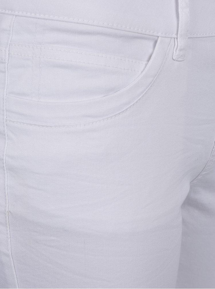 Bílé dámské zkrácené super slim džíny QS by s.Oliver