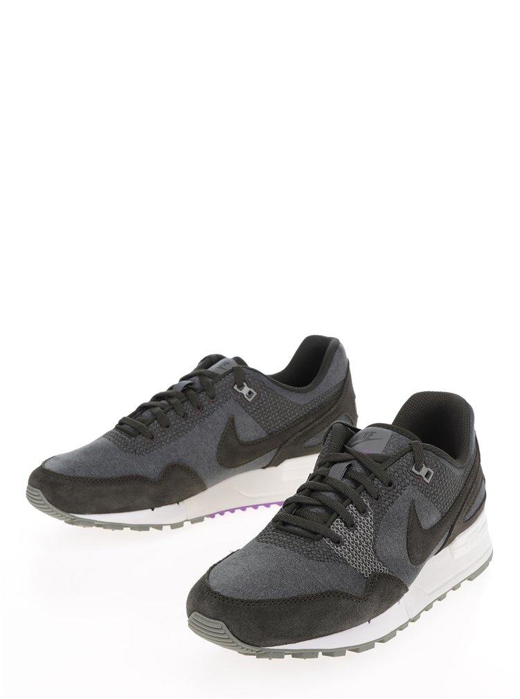 Tmavě šedé pánské tenisky Nike Air Pegasus