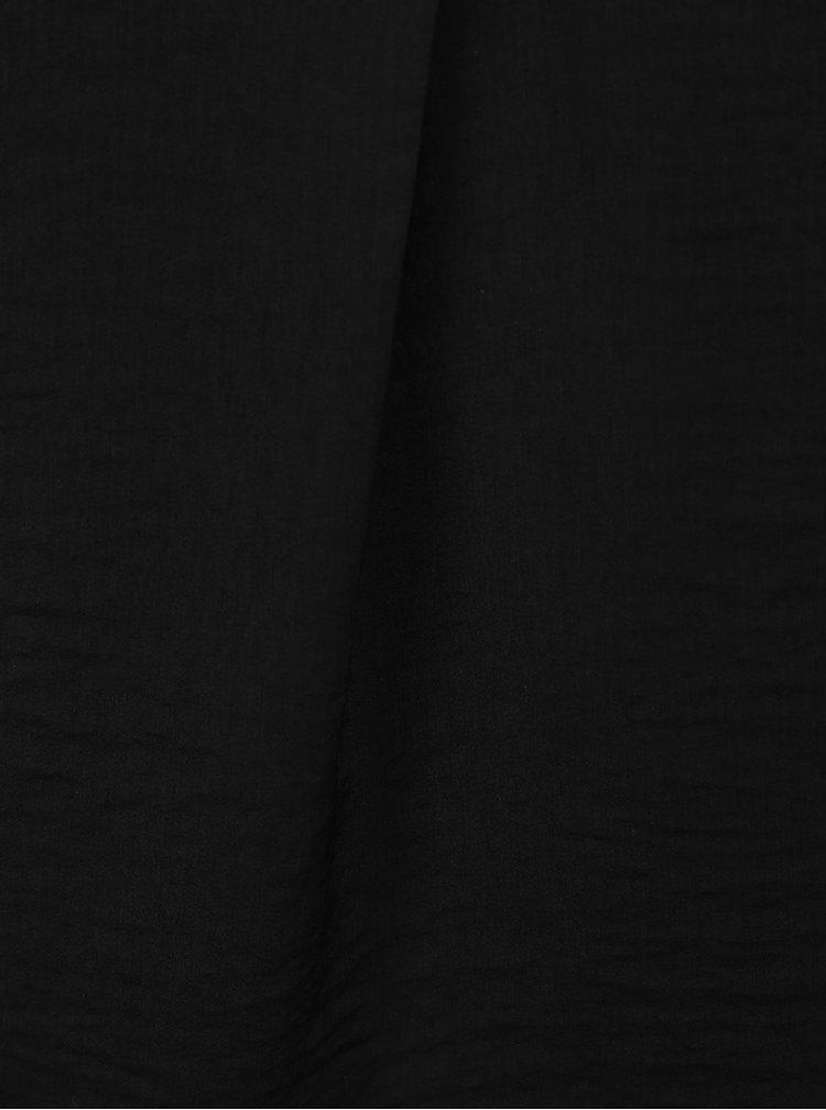 Top lejer negru TALLY WEiJL cu bretele subtiri