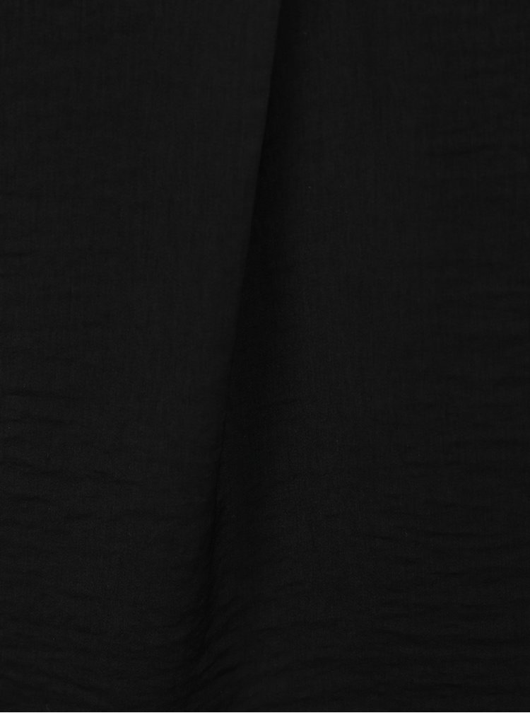 Top lejer negru TALLY WEiJL cu bretele subțiri