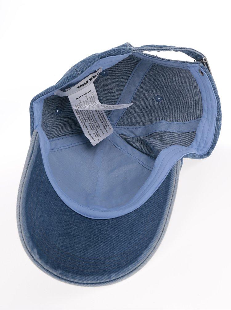 Modrá džínová kšiltovka TALLY WEiJL