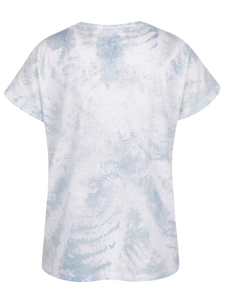 Zeleno-bílé dámské tričko s potiskem Pepe Jeans Julieta