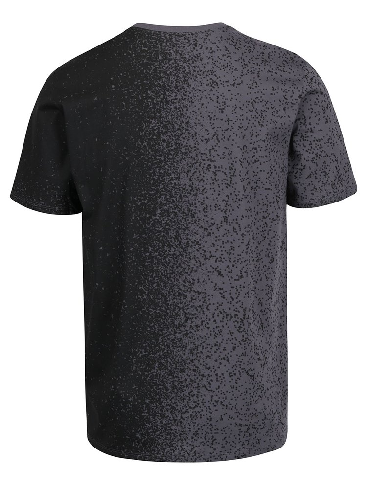 Šedo-černé pánské triko Nike Tee