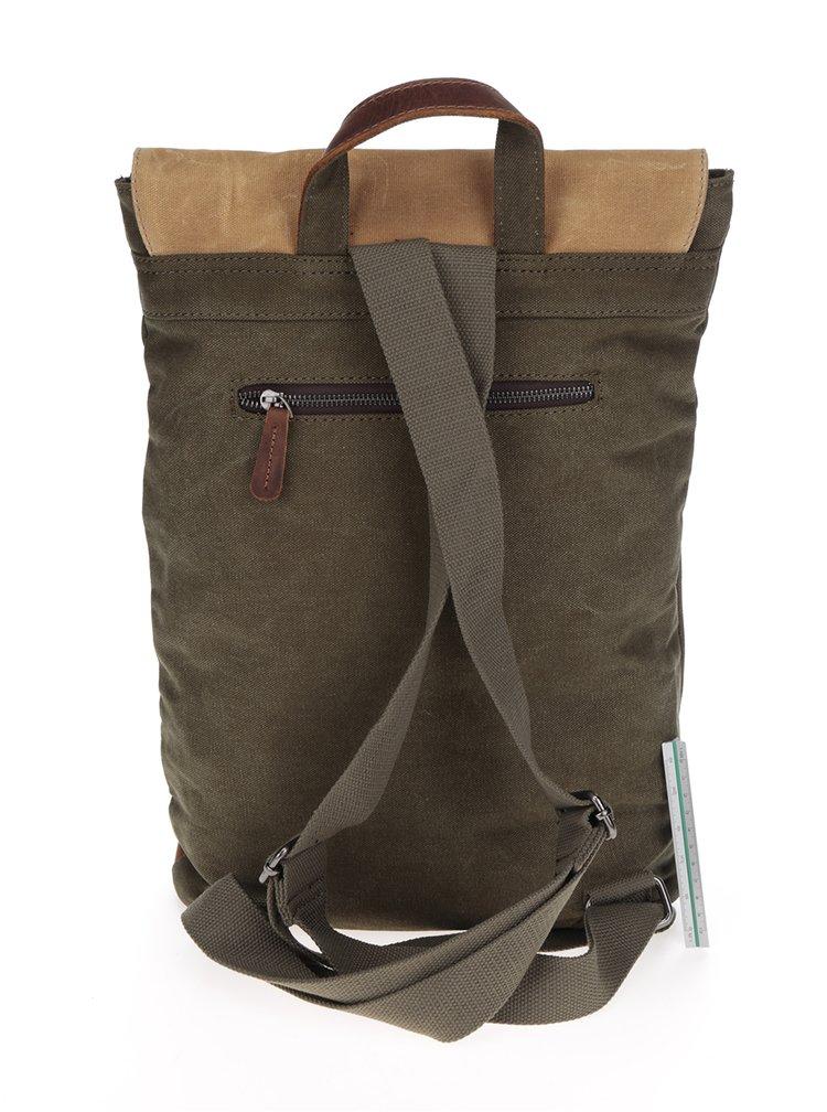 Béžovo-khaki unisex batoh Urban Bag