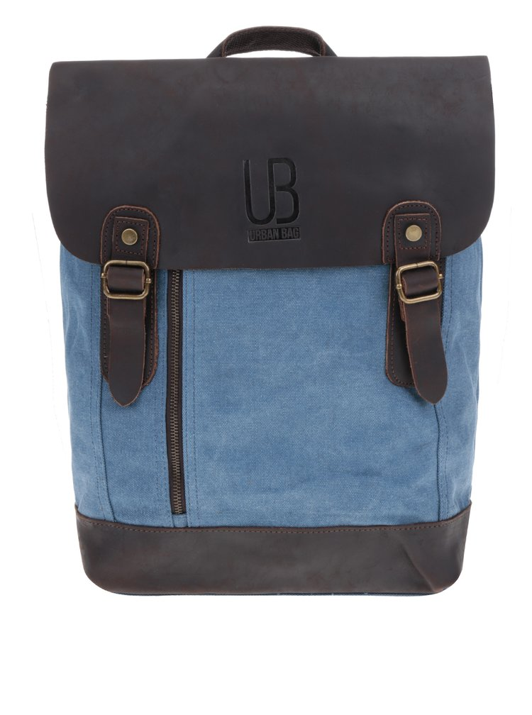 Hnědo-modrý unisex batoh Urban Bag
