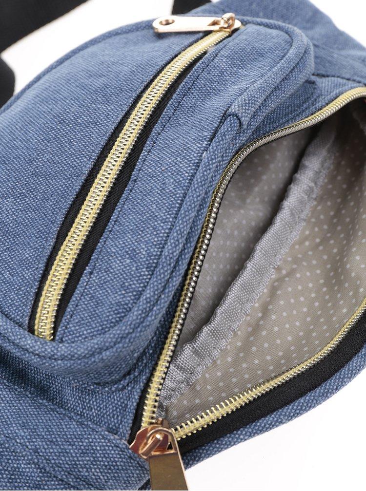 Borseta albastra ZOOT cu buzunare