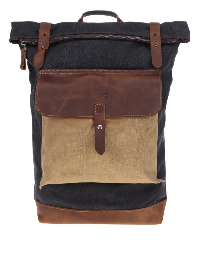 Tmavě šedý unisex batoh Urban Bag