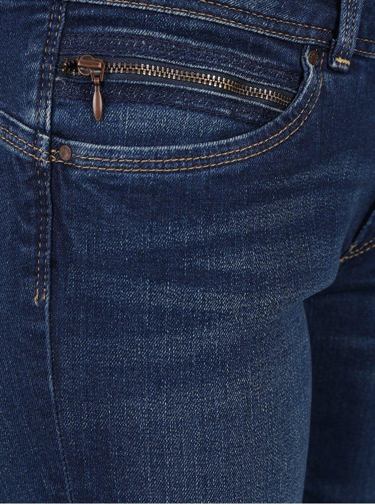 Tmavě modré dámské slim džíny Pepe Jeans New Brooke