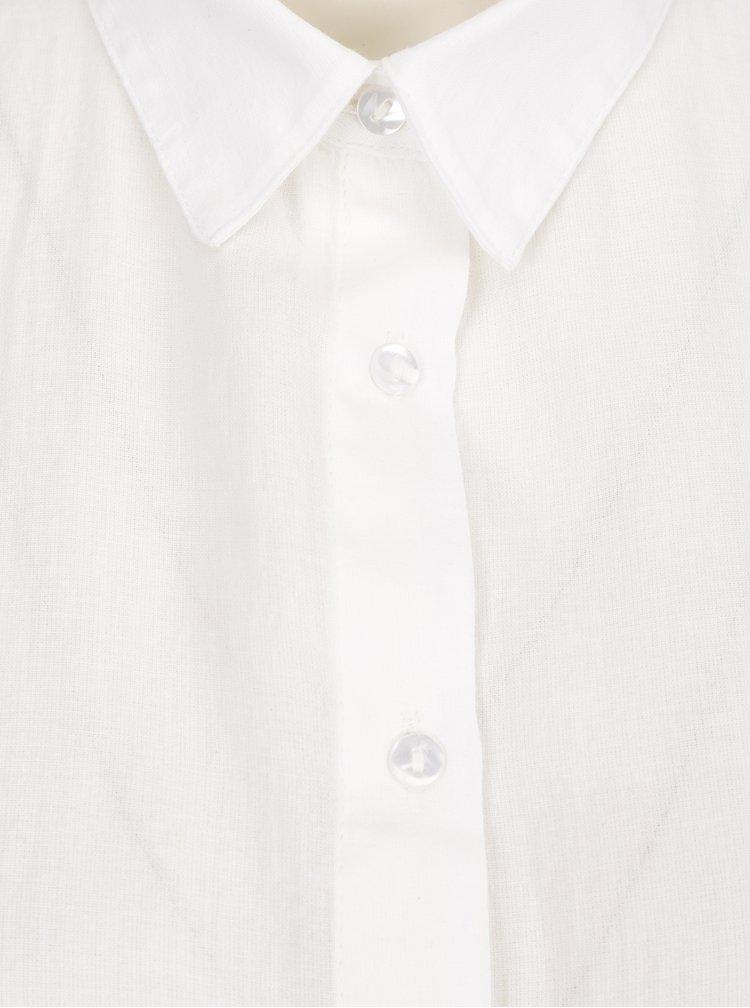 Krémová košile s dlouhým rukávem VERO MODA Isabell