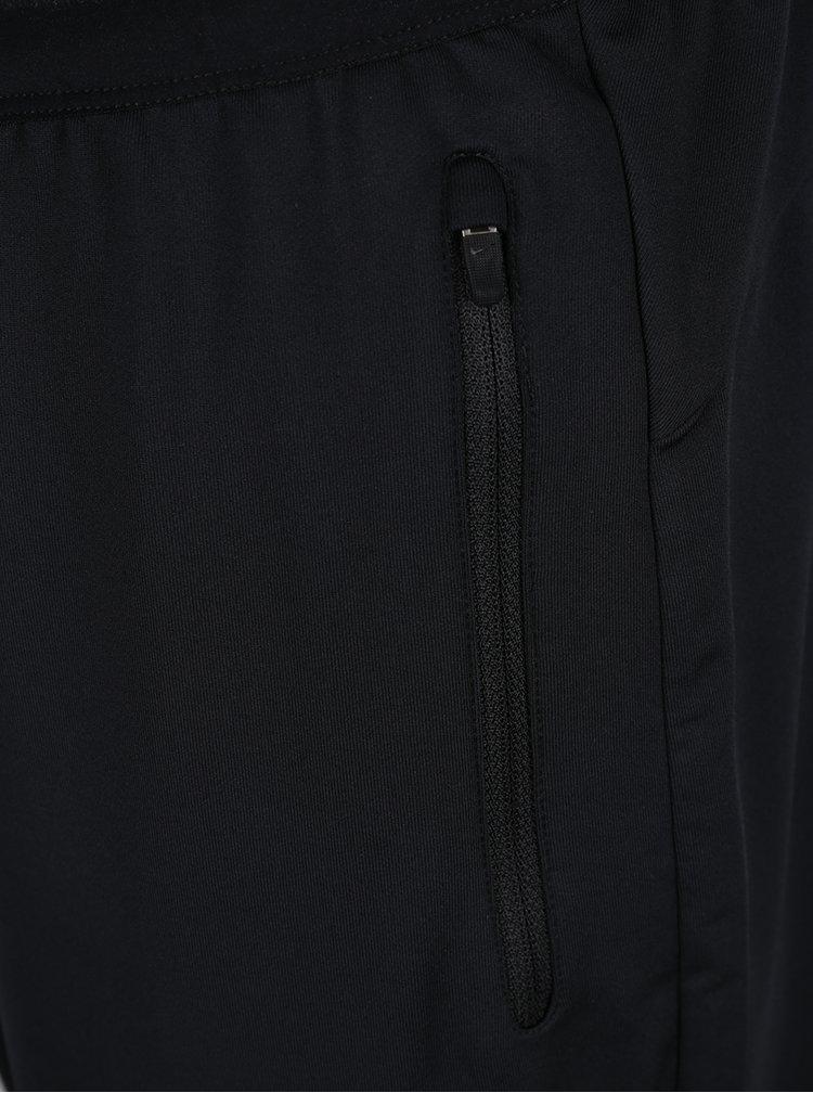 Černé pánské funkční tepláky s kapsami Nike
