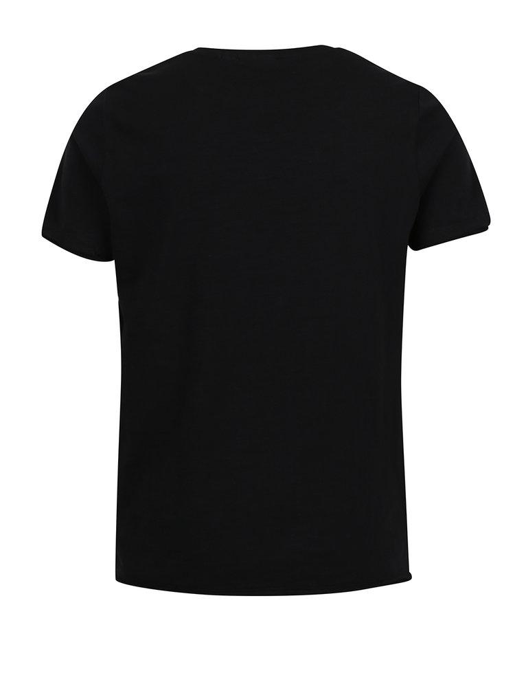 Tricou negru LIMITED by name it Ralf cu print pentru băieți