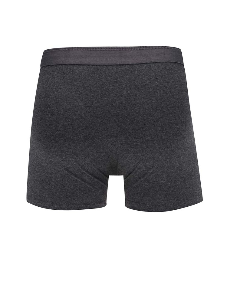 Sivé boxerky Selected Homme Kris